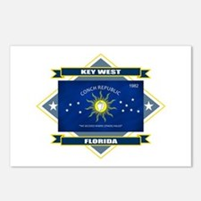 Key West Flag Postcards (Package of 8)
