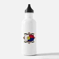 Memphis Flag Water Bottle