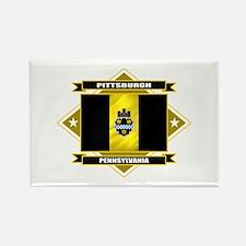 Pittsburgh Flag Rectangle Magnet