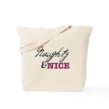 Naughty & Nice Tote Bag