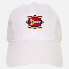 St Louis Flag Baseball Baseball Cap