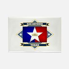 San Antonio Flag Rectangle Magnet