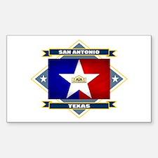 San Antonio Flag Decal