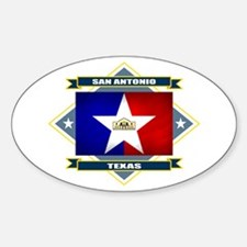 San Antonio Flag Decal