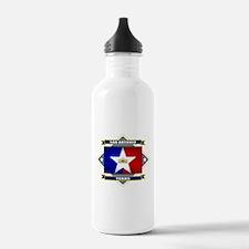 San Antonio Flag Water Bottle