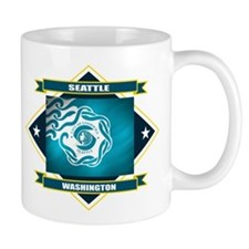 Seattle Flag Small Mug