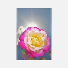 French Perfume Rose Rectangle Magnet