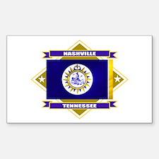 Nashville Flag Decal
