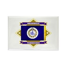 Nashville Flag Rectangle Magnet