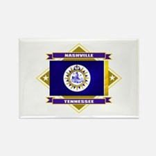 Nashville Flag Rectangle Magnet