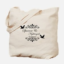 Sparrow and Nightingale Investigations Tote Bag