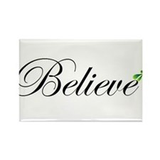 Cute Believe Rectangle Magnet (10 pack)