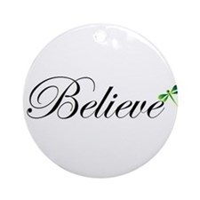 Unique Believe Ornament (Round)