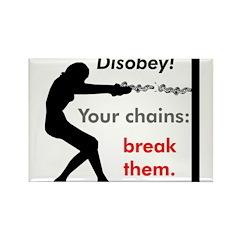 Chainbreaker Rectangle Magnet (100 pack)
