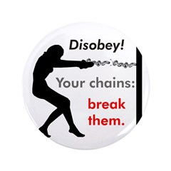 "Chainbreaker 3.5"" Button (100 pack)"
