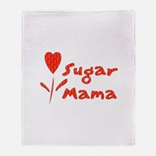 Sugar Mama Throw Blanket