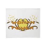 Woman Power Throw Blanket
