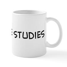 I Love Peace Studies Mug