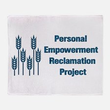 Personal Empowerment Throw Blanket