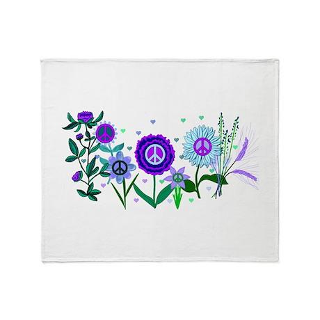 Growing Peace Throw Blanket