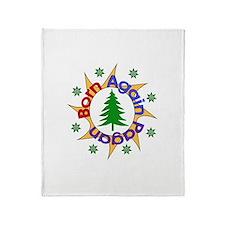 Born Again Pagan Throw Blanket