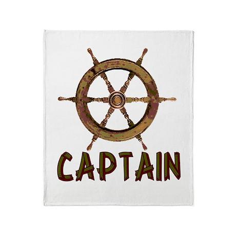 Captain Throw Blanket