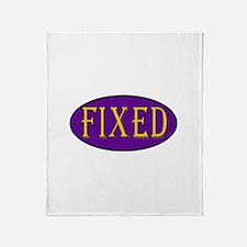 Fixed Throw Blanket