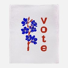 2008 Election Voter Throw Blanket