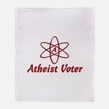 Atheist Voter Throw Blanket