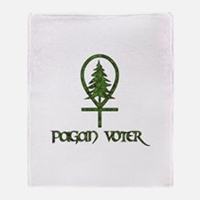 Pagan Voter Throw Blanket