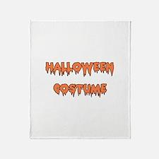 Halloween Costume Throw Blanket