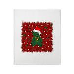 Christmas Bear Throw Blanket