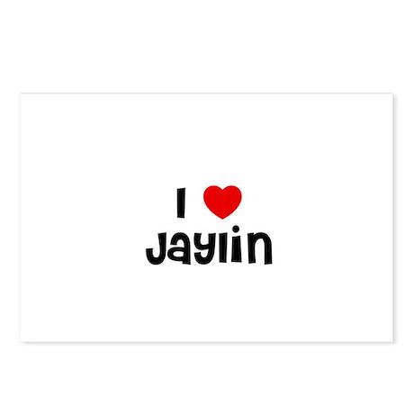 I * Jaylin Postcards (Package of 8)