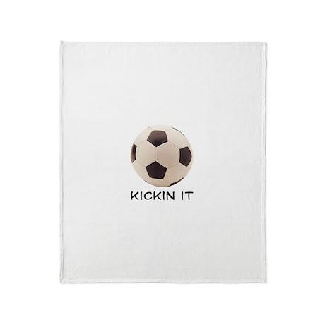 Soccer Ball Throw Blanket