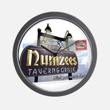 Numzees Tavern and Grille Wall Clock