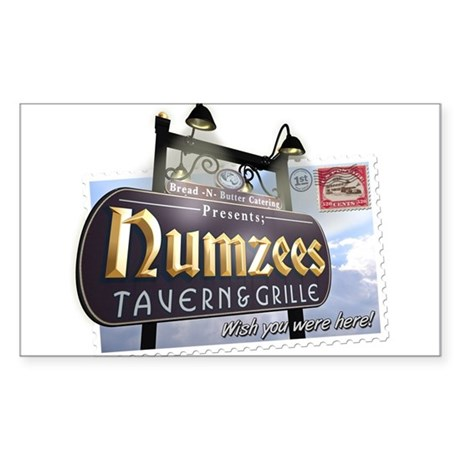 Numzees Tavern and Grille Sticker (Rectangle)