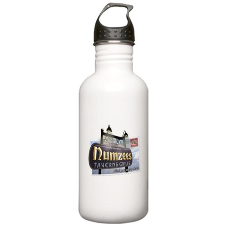 Numzees Tavern and Grille Stainless Water Bottle 1
