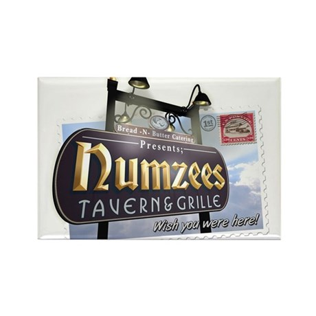 Numzees Tavern and Grille Rectangle Magnet (100 pa