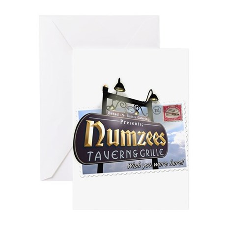 Numzees Tavern and Grille Greeting Cards (Pk of 10