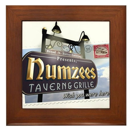Numzees Tavern and Grille Framed Tile