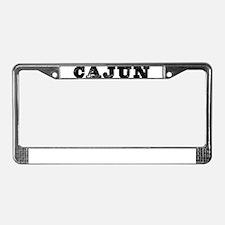Cute Cajun License Plate Frame