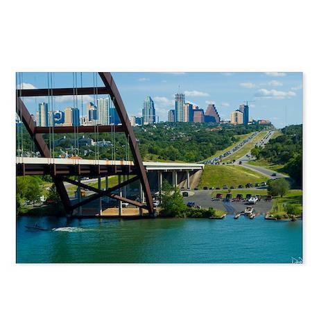 Austin Texas Skyline Bridge Postcards (Package of