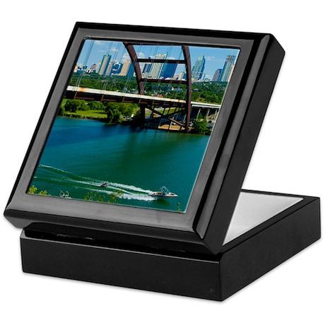 Austin Texas Skyline Bridge Keepsake Box