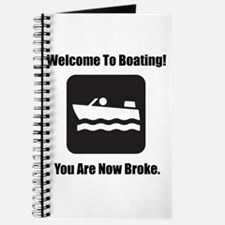 Welcome To Boating! STYLE A Journal