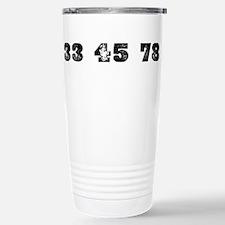 Revolutions per minute Travel Mug