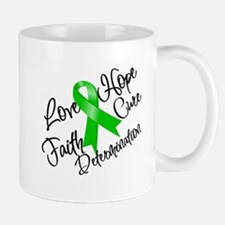 Love Hope Bile Duct Cancer Small Small Mug