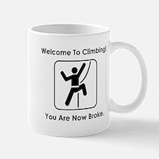 Welcome To Climbing! Mug
