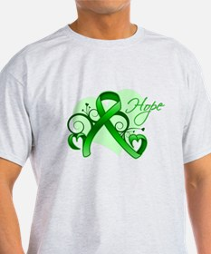 Heart of Hope Bile Duct Cance T-Shirt