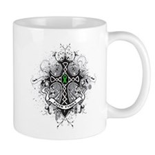 Faith Cross Bile Duct Cancer Mug