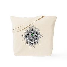 Faith Cross Bile Duct Cancer Tote Bag